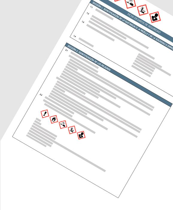 Hintergrund der Software für Sicherheitsdatenblätter