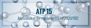 Veröffentlichung der 15. ATP der CLP-Verordnung